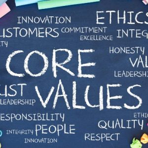 Personal Values and goal setting